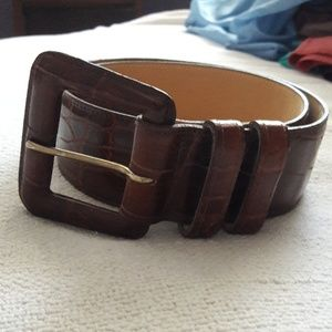 Classifies for Nordstrom leather belt